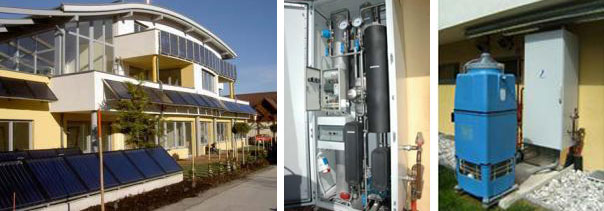 Solar systems: Hot water, space heating and cooling, heating swimming pool