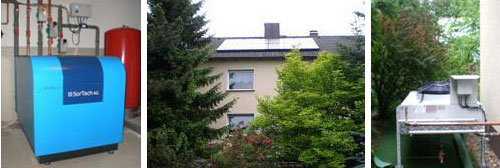 Solar Systems: Hot water, space heating and cooling